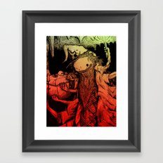 Necromance with Me Framed Art Print