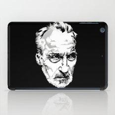 Sir Christopher Lee iPad Case