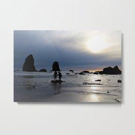 Oregon Sunset Metal Print