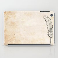 writing iPad Cases featuring Writing by Steve Perrson