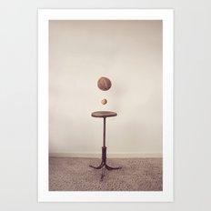 The Coconut Shy Art Print