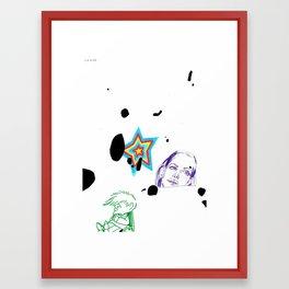 des4 Framed Art Print