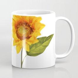 Sunflowers Illustration Coffee Mug
