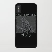 kaiju iPhone & iPod Cases featuring Kaiju Division by Pigboom Art