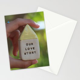 Our Love Story House Stationery Cards