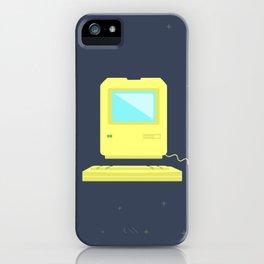 Vintage Computer iPhone Case