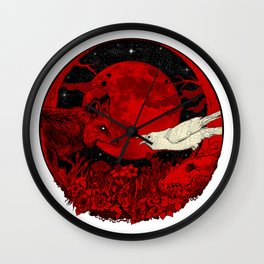 Belated Confessions Wall Clock