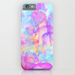 Magic background pattern iPhone Case
