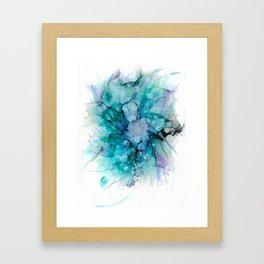 Bubble Bloom Framed Art Print