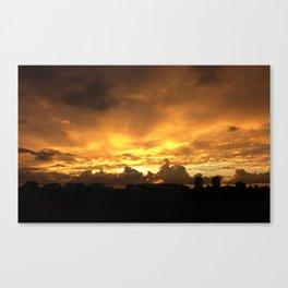 Sunset in Miramar Canvas Print