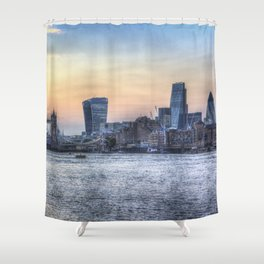 Evening In London Shower Curtain