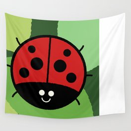 Cutesy Crawlies — Ladybird Wall Tapestry