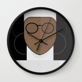 Sister Act, minimal Movie Poster, classic comedy film, funny, Whoopi Golberg, american cinema Wall Clock