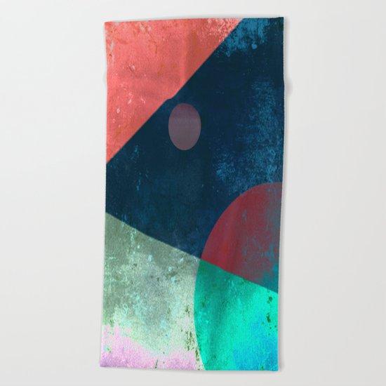 A Slice Of Sky Beach Towel