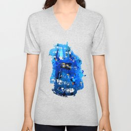 Blue Emotion Unisex V-Neck