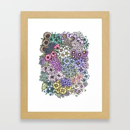 A Bevy of Blossoms Framed Art Print