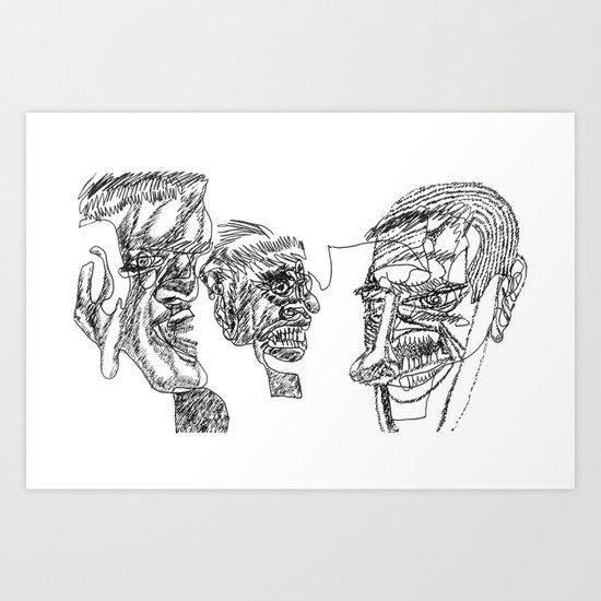2012 - G Art Print