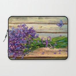 Bouquet of lavender Laptop Sleeve
