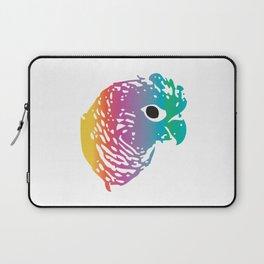 Rainbow Parrot Laptop Sleeve