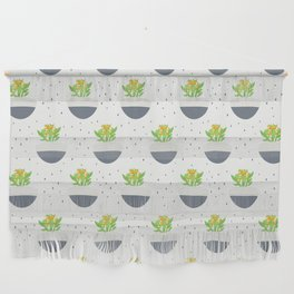 Potted Kalanchoe Plant Mom Pattern Wall Hanging