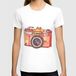 retro camera phone case T-shirt