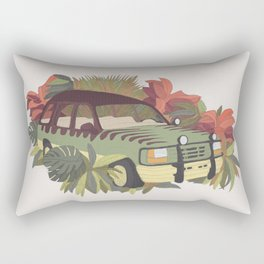 Jurassic Car Rectangular Pillow