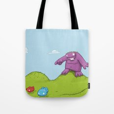 Marshmallow Hunting Tote Bag