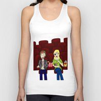 theatre Tank Tops featuring Horror Theatre by Beaston Designs