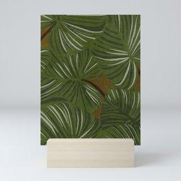 greens Mini Art Print
