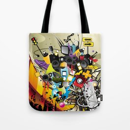 Sound System Space Tote Bag