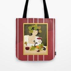 Bacco by Caravaggio Tote Bag