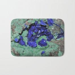 Azurite and Malachite Bath Mat