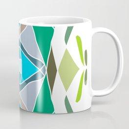 Symmetrical color mandala Coffee Mug