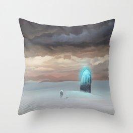 Ancient Obelisk Throw Pillow
