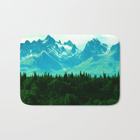 Adventure Mountain Bath Mat