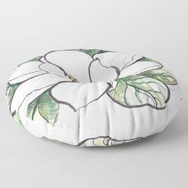 Magnolia Grandiflora Floor Pillow