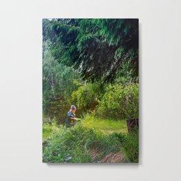 Forest inhabitant Metal Print