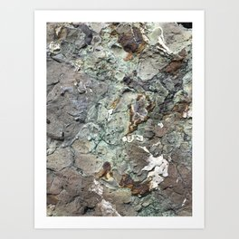 Sea of Rock Art Print
