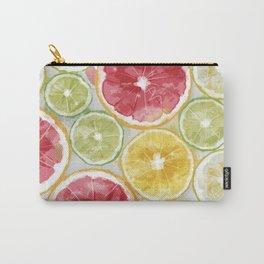 Citrus Splash Carry-All Pouch