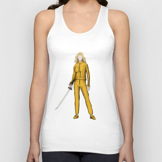 The Bride without a face (Kill Bill) by alikibuendia