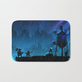 Rooftop Rumble Bath Mat