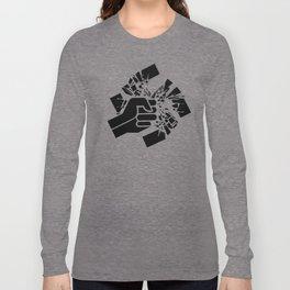 Obliterate Hate (women) Long Sleeve T-shirt