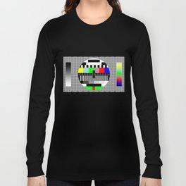 PAL TV Testing Widescreen Long Sleeve T-shirt