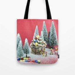Christmas cupcake Tote Bag