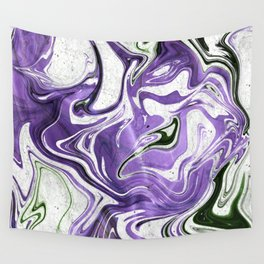 Violet Wall Tapestry