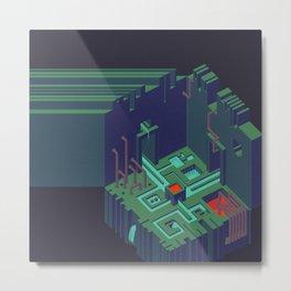 Cutoff Frequency #1: Meet Me In The Meet-Me-Room Metal Print