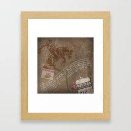 Deep In The Heart Framed Art Print