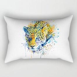 Lurking Leopard Rectangular Pillow