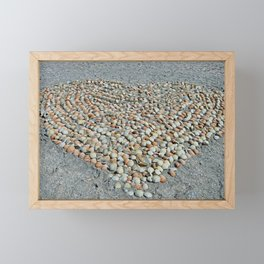Love on Sanibel Framed Mini Art Print