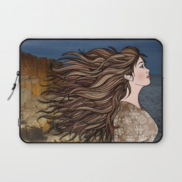 Fionnuala at The Giant's Causeway Laptop Sleeve
